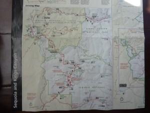 La carte du parc pour ceux qui programment une visite