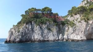 La villa Malaparte, où fut tourné en 1963 Le Mépris de Jean-Luc Godard