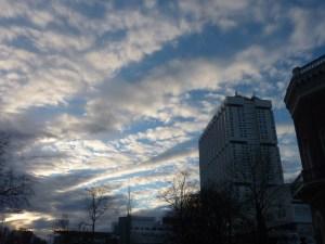 Le ciel de Rotterdam fut parfois bleu (mais souvent humide...)