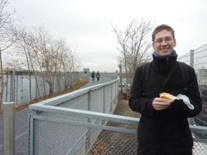 Petit hot-dog sur la High Line