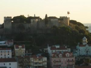 Vue sur le château depuis le mirador