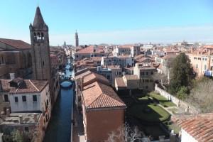 Vue sur Venise depuis le palais
