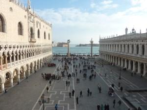 """""""Piazzeta San Marco"""", la petite place à côté de la place St Marc..."""