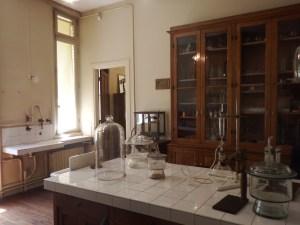 Le laboratoire de Marie Curie...