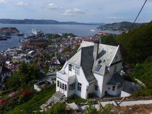 Jolie maison en redescendant sur Bergen
