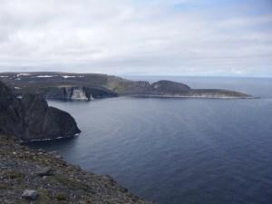 Le cap Nord géographique
