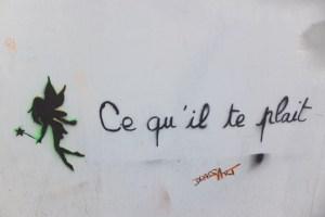 Street art à République