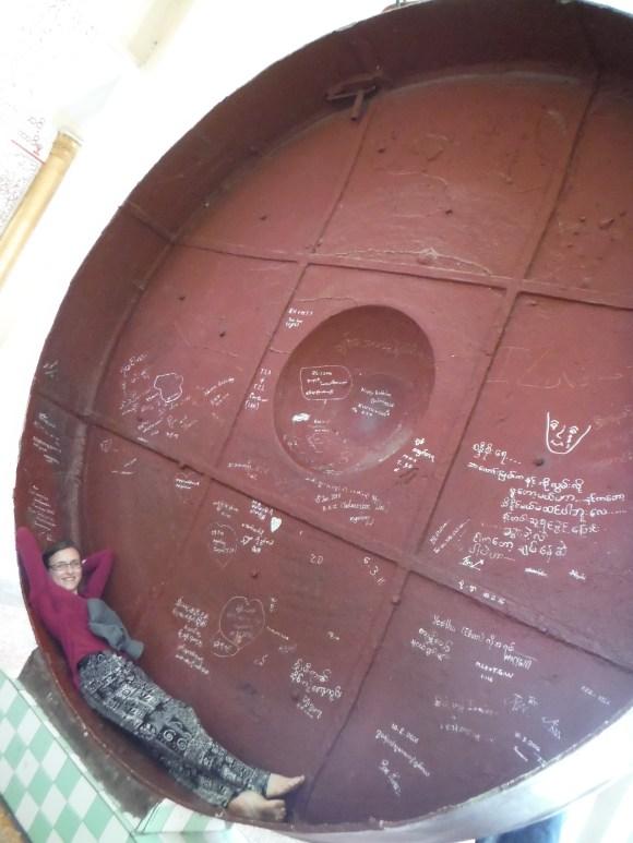 Un gong si grand que l'on peut y dormir !