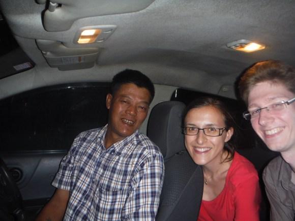 Avec notre super chauffeur/guide !