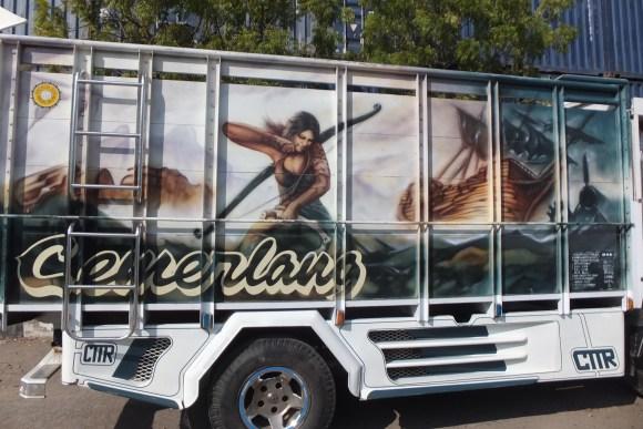 Les camions décorés