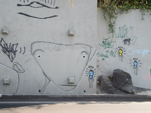Il y a beaucoup de street art à Rio, on aime !
