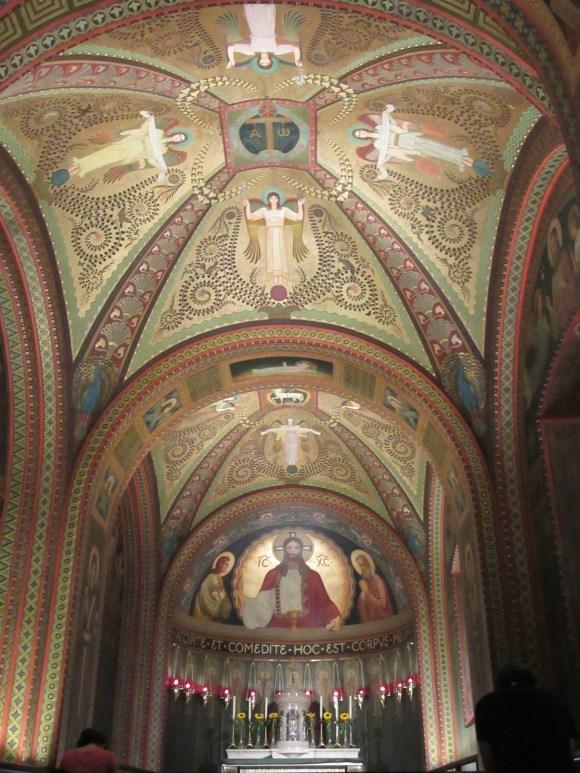 Les belles fresques du monastère Sao Bento