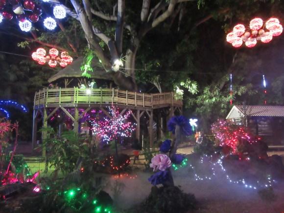 Jardin de l'Etat by night