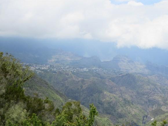... la vue sur Cilaos...