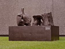 Two Piece Reclining Figure #2 1959 Henry Moore
