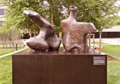 Two Piece Reclining Figure #1 1959 Henry Moore