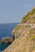 The first (and busiest) section of the Cinque Terre trail
