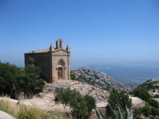 One of the chapels scattered around Montserrat