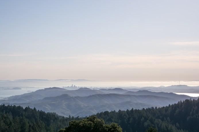 Stinson to East Peak   Smiling in Sonoma