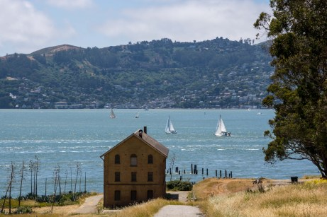 Playing Tourist at Angel Island   Smiling in Sonoma