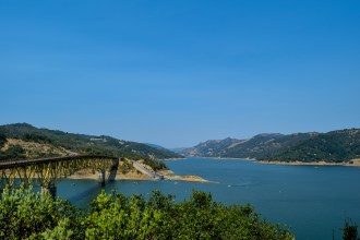Lake Sonoma - Half a Canoe Trail | Smiling in Sonoma
