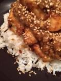 poulet sauce cacahuette, un pur délice