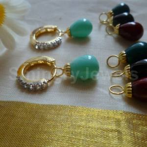 Removable drop antique earring