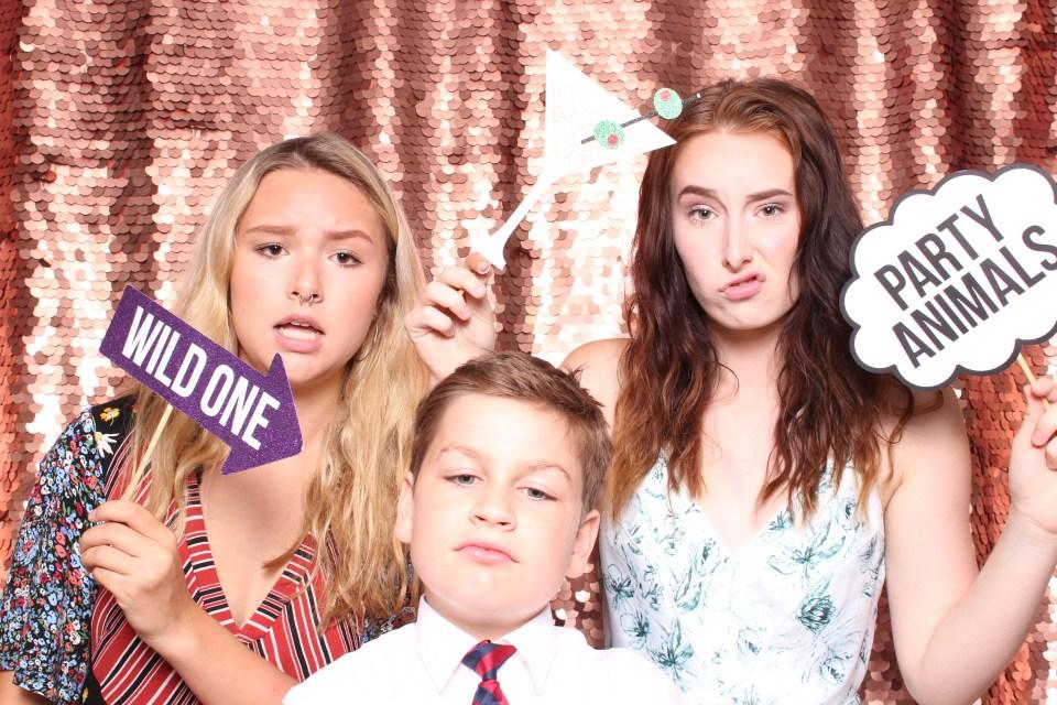 Portland Wedding Photobooth Smirk