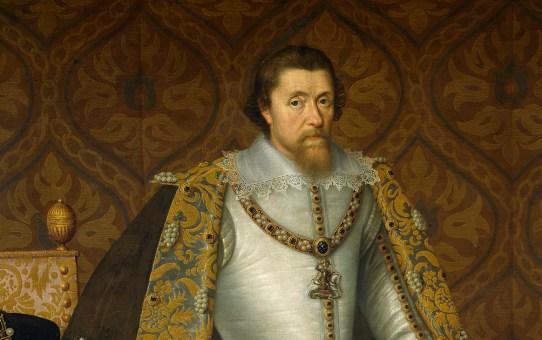 Джеймс VI и I. Библия короля Джеймса.