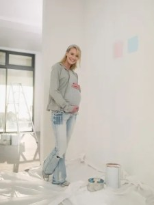 Paint While Pregnant.