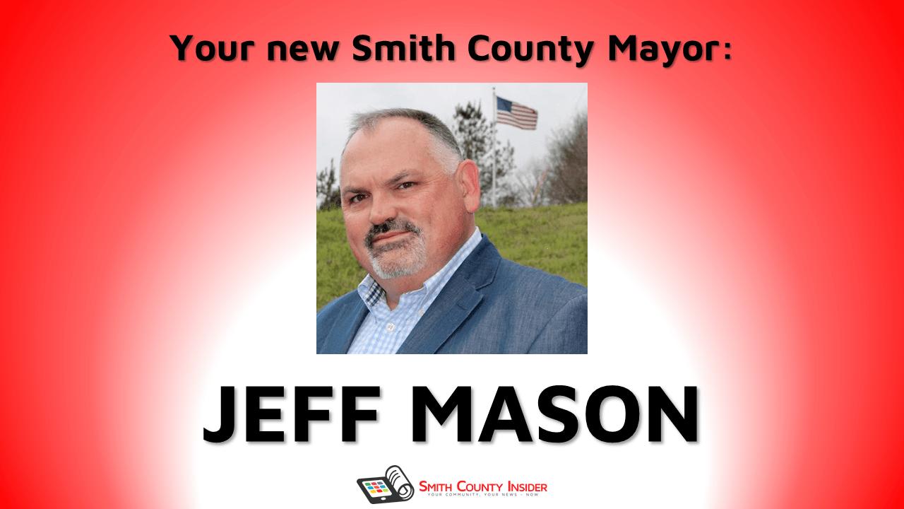 Jeff mason elected mayor of smith county smith county insider m4hsunfo