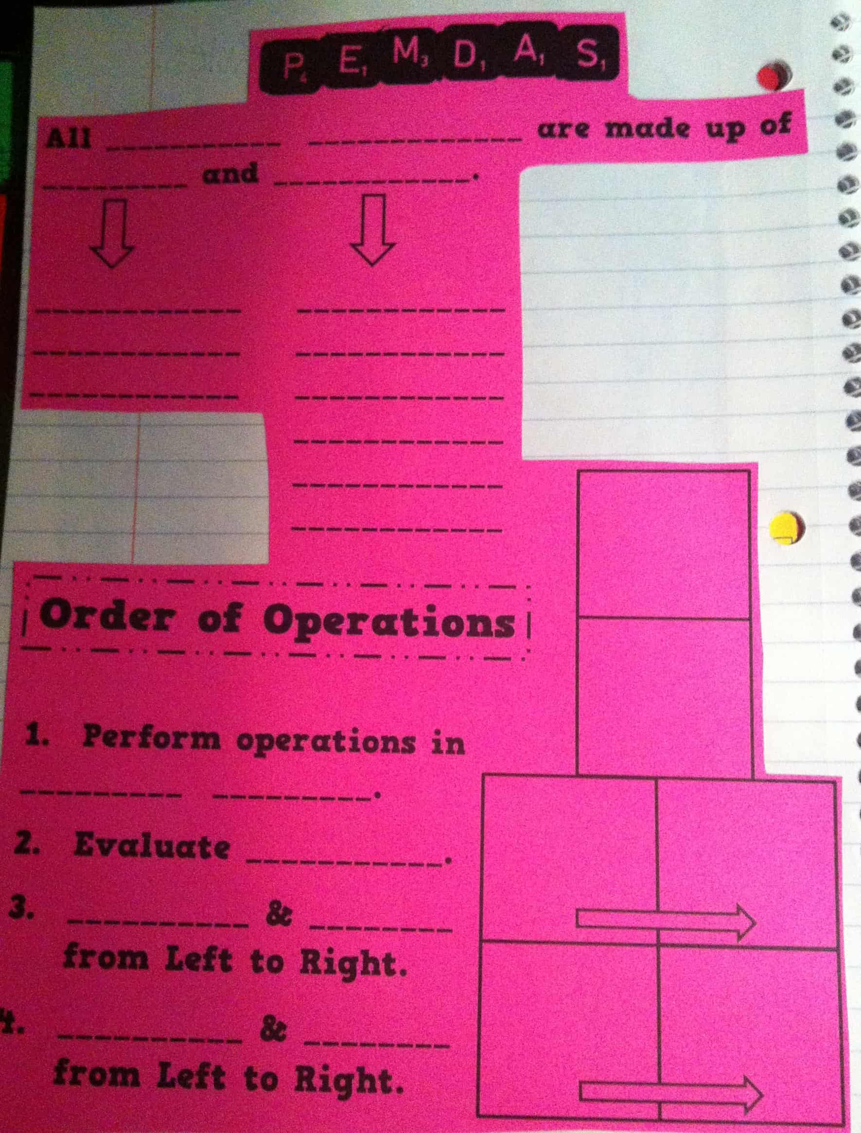 Order Of Operations Is Where It S At Smith Curriculum