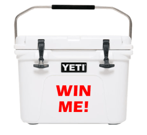 Win A Yeti Roadie
