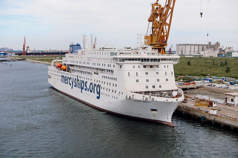 Mercy Ship's Global Mercy