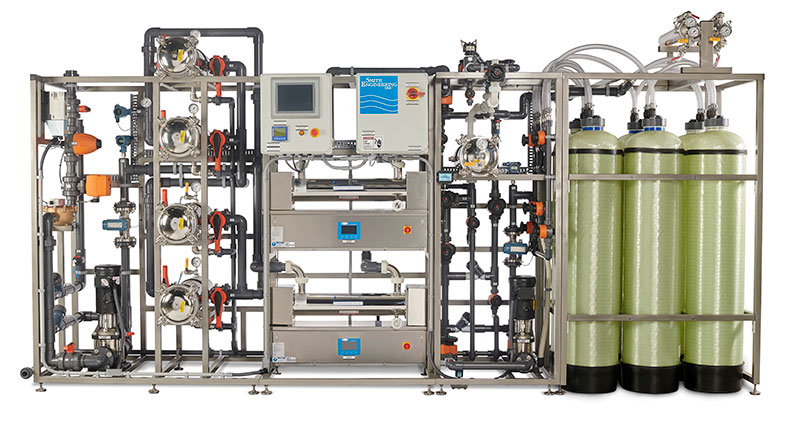 water purification system on the Global Mercy