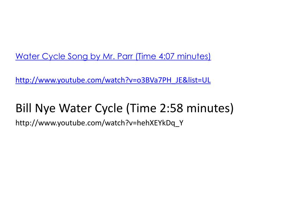 30 Bill Nye Water Cycle Worksheet