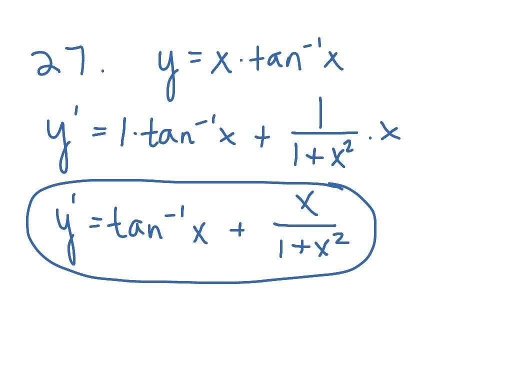 30 Derivative Of Trigonometric Functions Worksheet