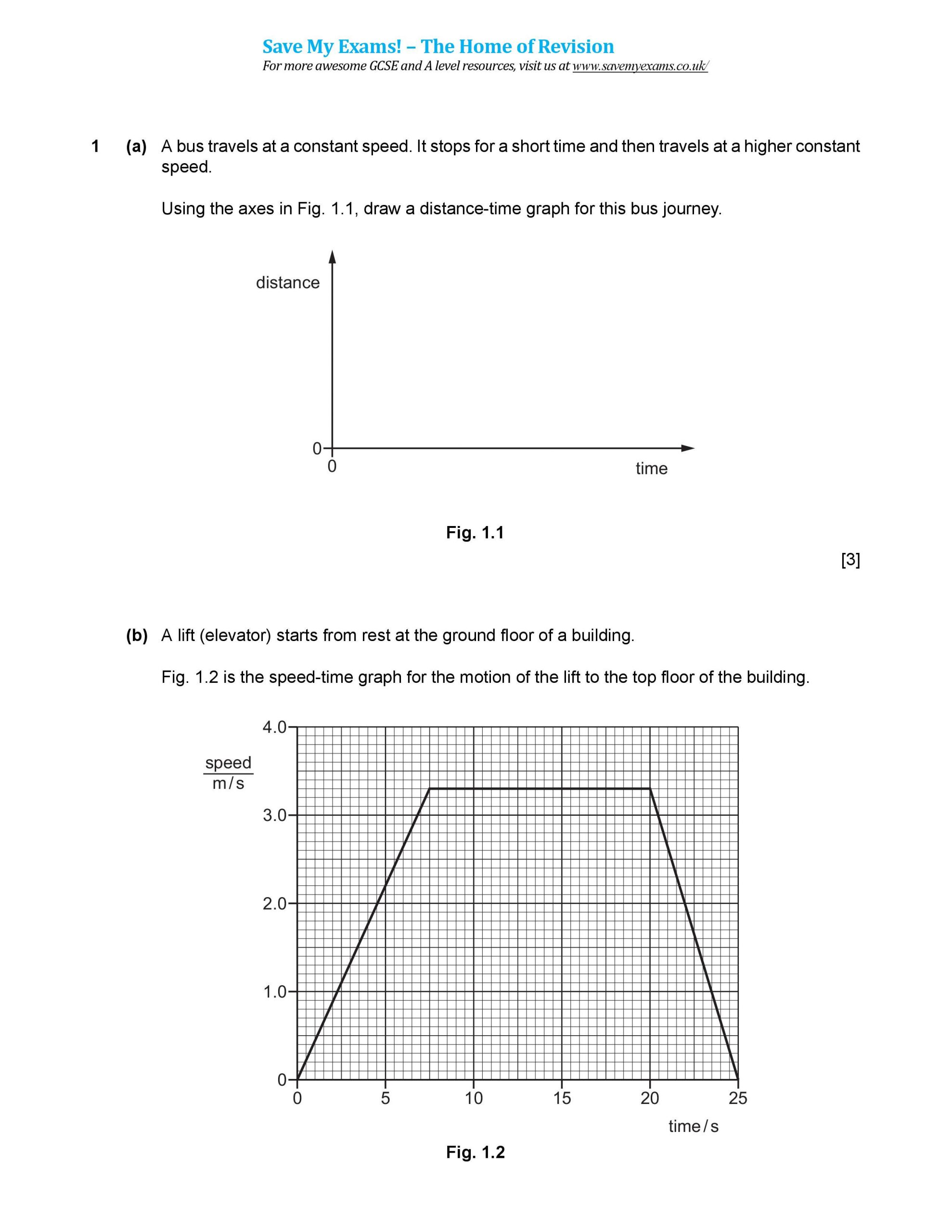 30 Distance Time Graph Worksheet