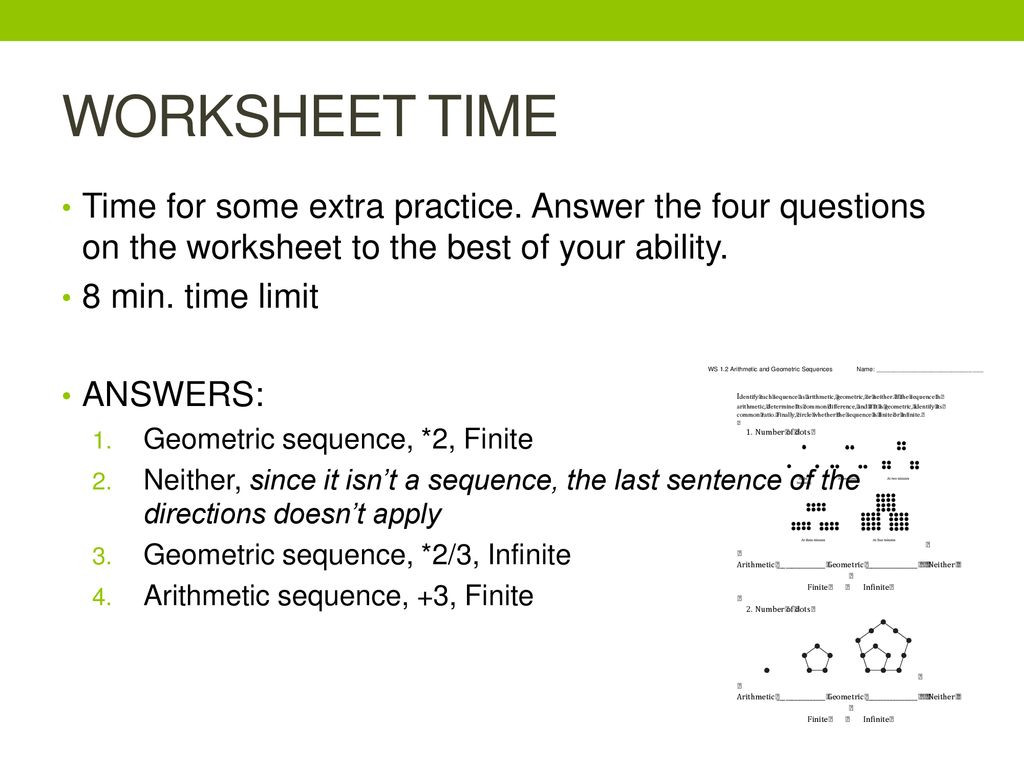 30 Geometric Sequence Practice Worksheet