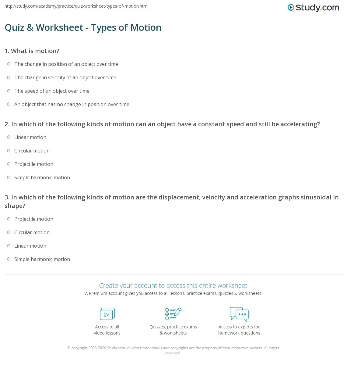 30 Projectile Motion Worksheet With Answers