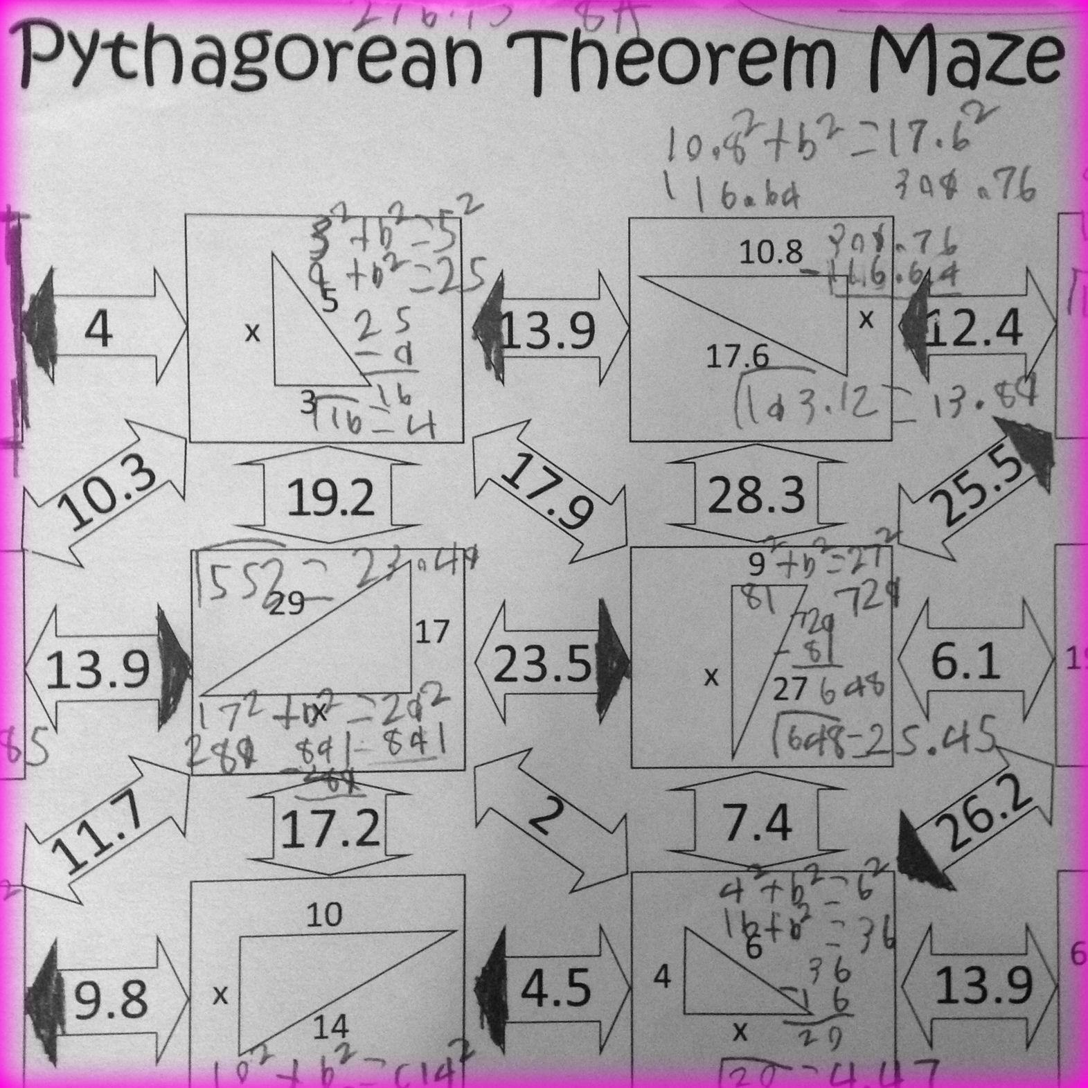 30 Pythagorean Theorem Worksheet Answer Key