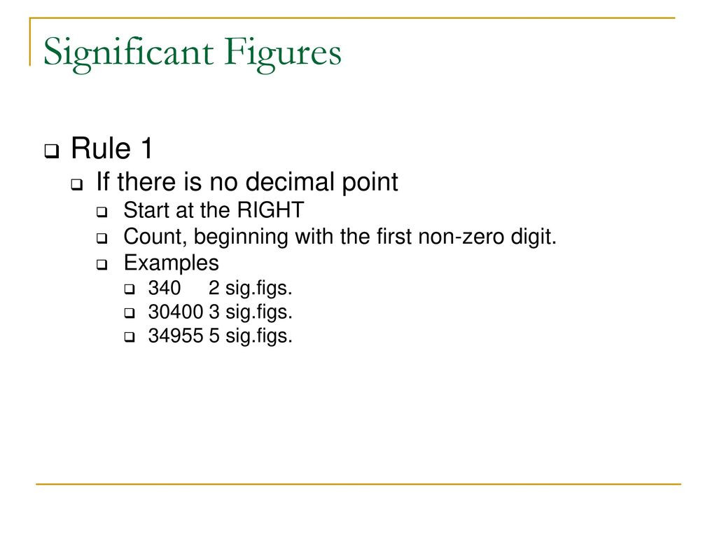 30 Significant Figures Worksheet With Answers