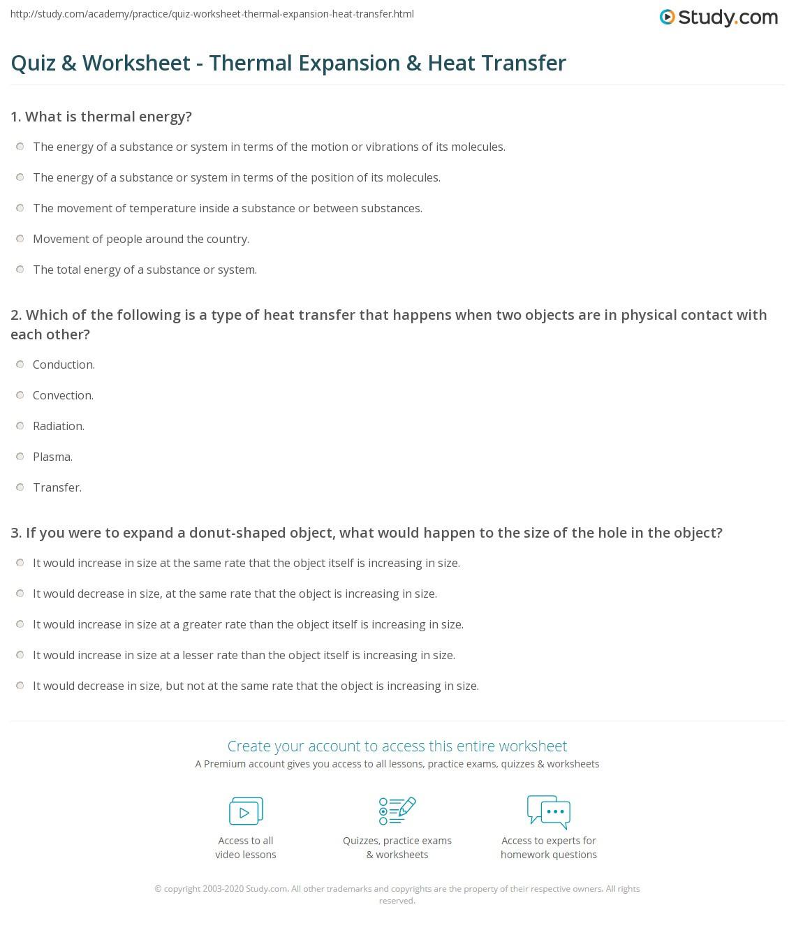 30 Specific Heat Worksheet Answer Key