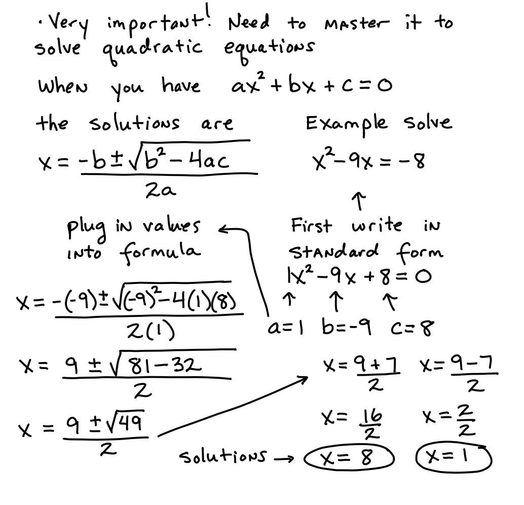 30 The Quadratic Formula Worksheet