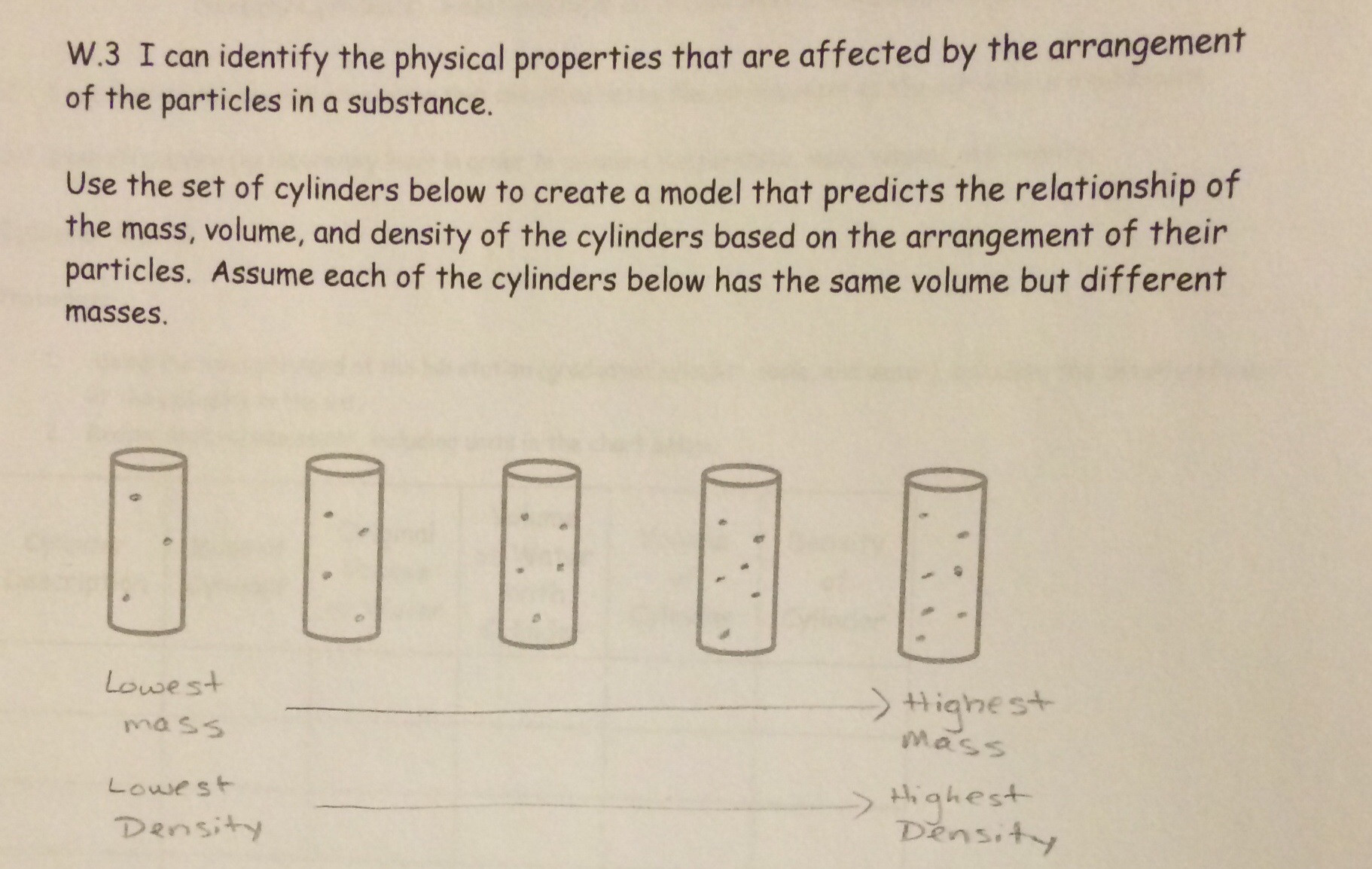 30 Density Worksheet Middle School