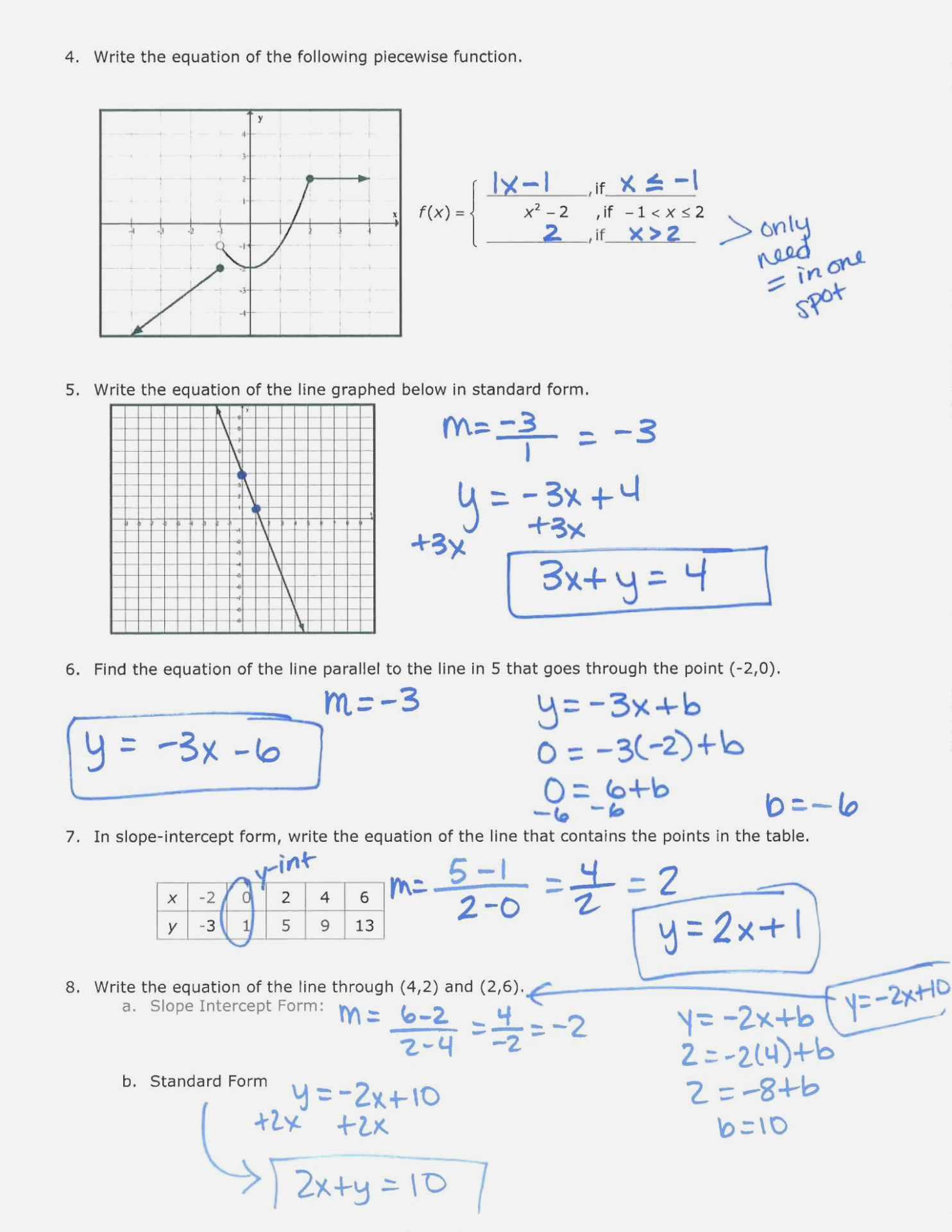 30 Graphing Trig Functions Practice Worksheet