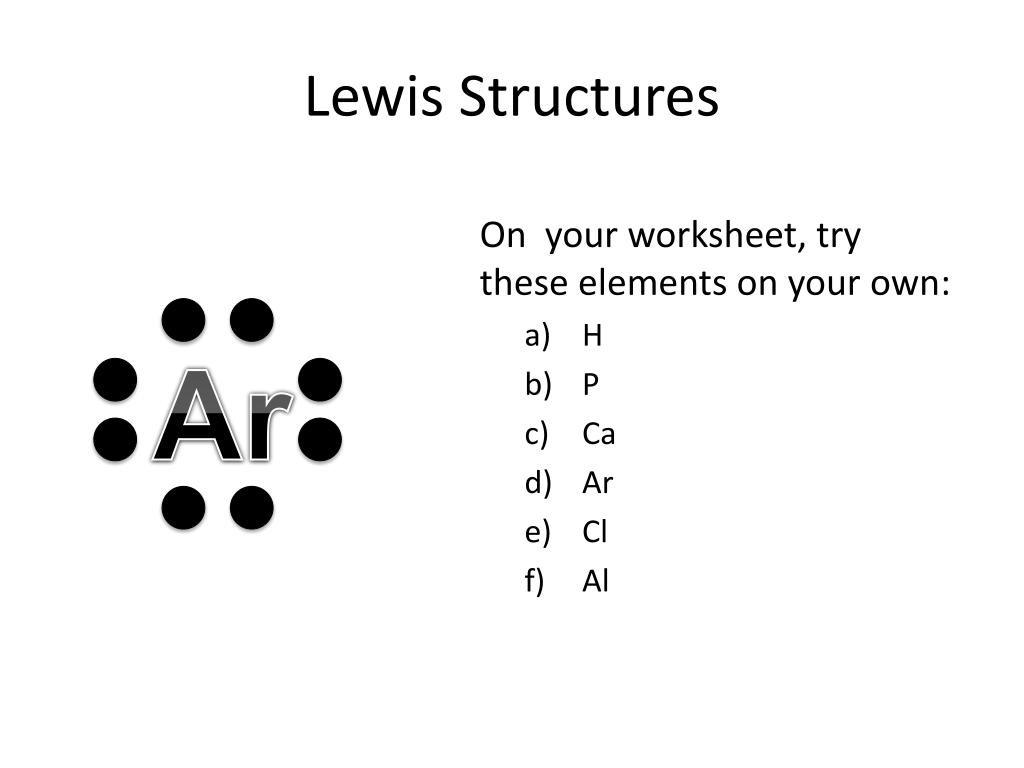 30 Lewis Dot Structure Worksheet