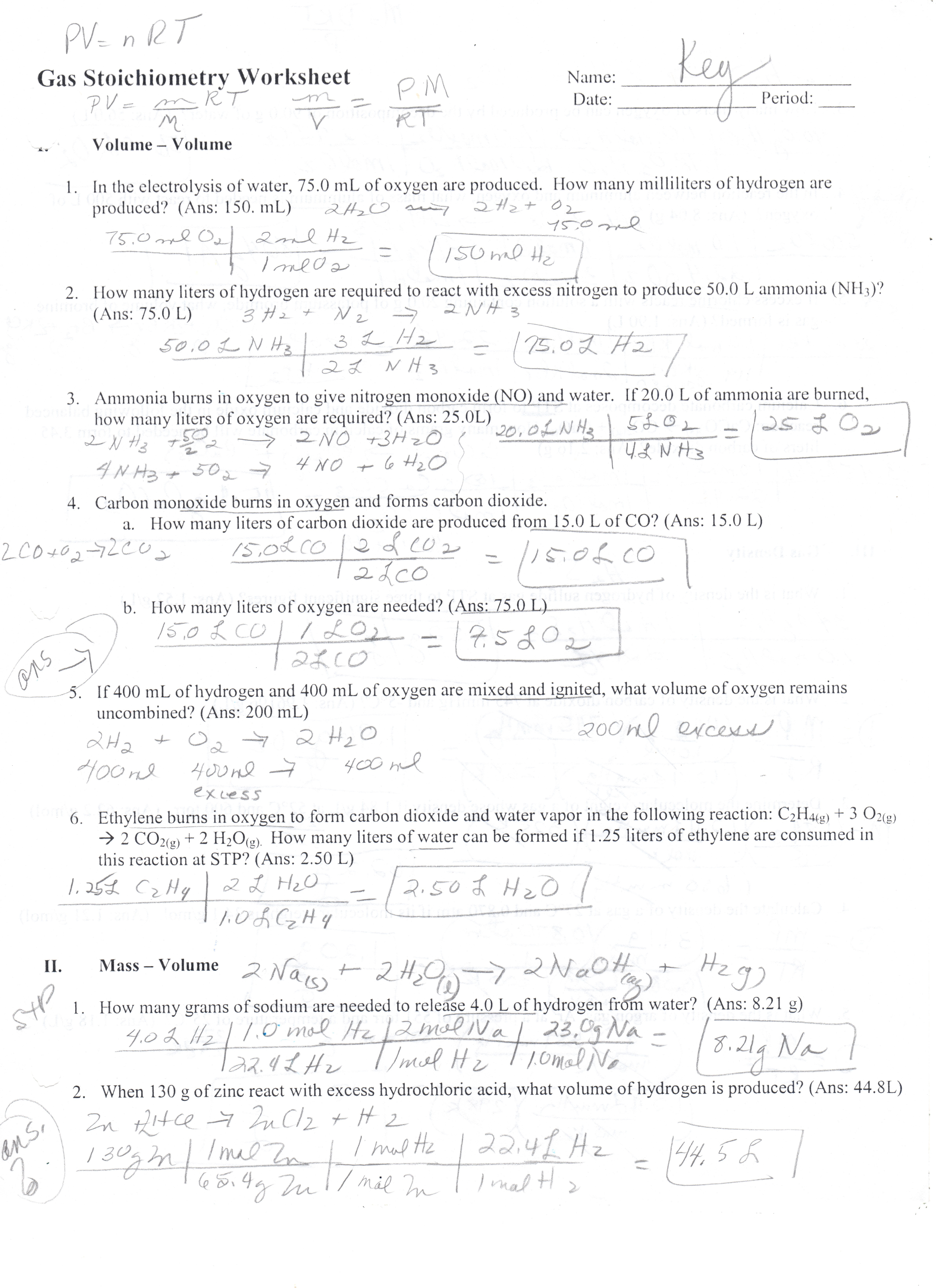 Percent Composition Worksheet Answers