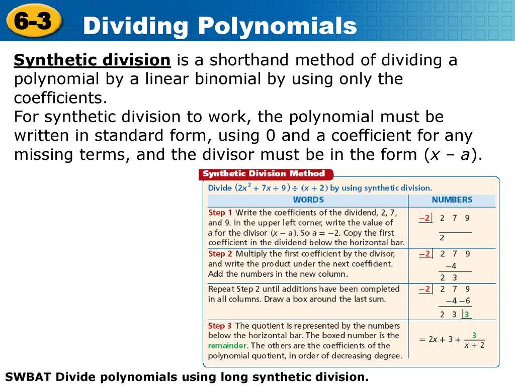 30 Polynomial Long Division Worksheet