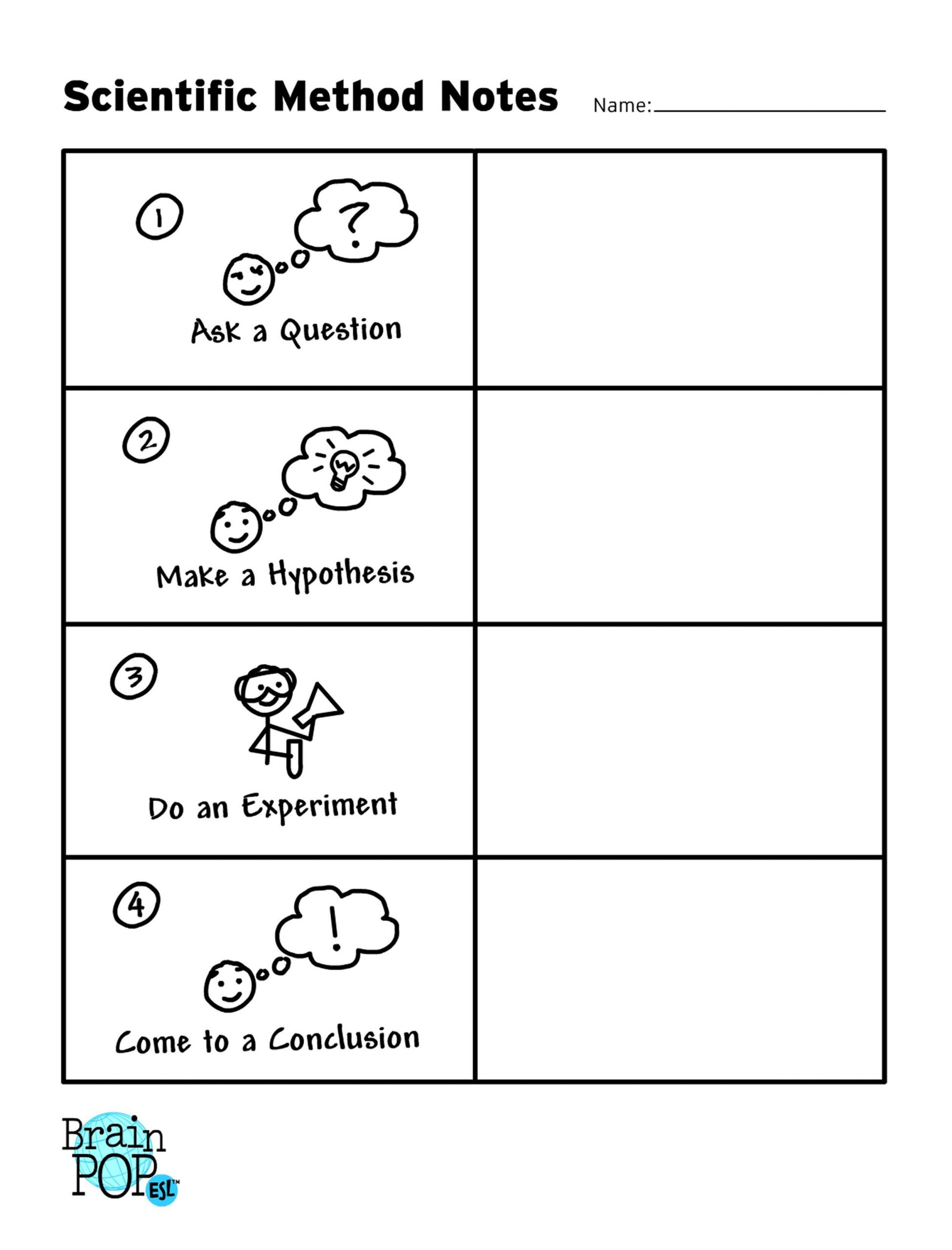 30 Scientific Method Worksheet Answers